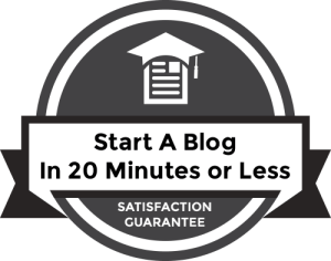 how to start a blog 101 guarantee